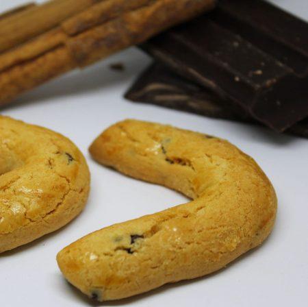 Gocce di cioccolato e cannella